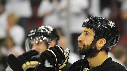 "Penguins forward Max Talbot: ""I'm really confident about this team."""